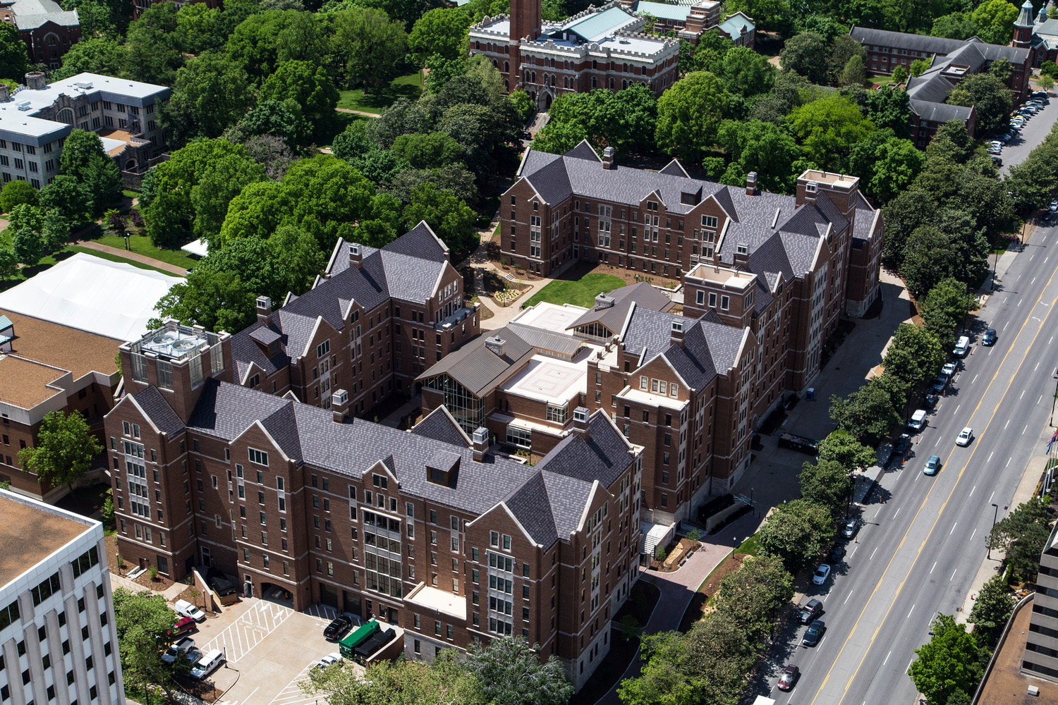 Vanderbilt University Kissam College Halls
