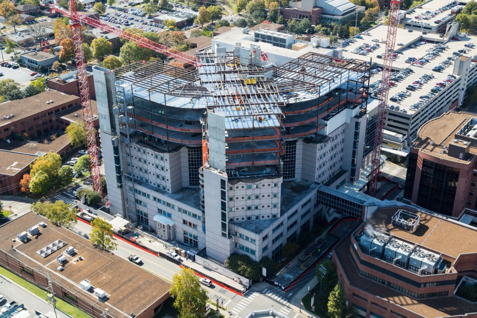Vanderbilt Children's Hospital - Vertical Expansion