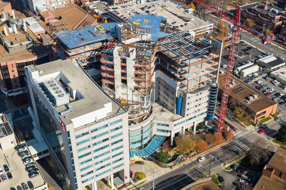 Vanderbilt Children's Hospital – Vertical Expansion | Sentry